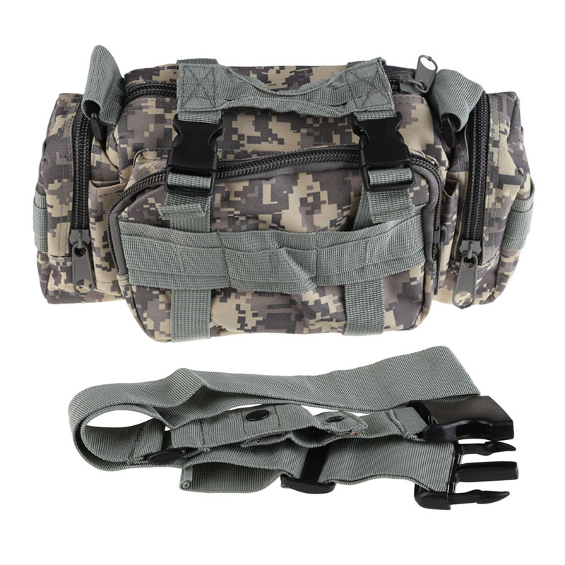 New Arrivals Unisex Waterproof  600D Nylon Tactical Softback Bags Waist Pack Pouch Military Outdoor Camping Hiking Hunting Bag|Climbing Bags| |  - title=