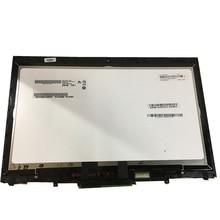 """14 """"터치 스크린 교체 디지타이저 유리 LCD LED 디스플레이 베젤 레노버 씽크 패드 X1 요가 (2 세대) 20JD, 20JE, 20JF, 20JG"""