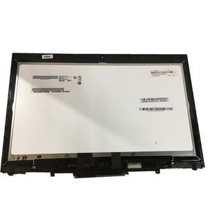 Image 3 - ЖК дисплей 20FQ WQHD диагональю 14 дюймов с сенсорным экраном и дигитайзером в сборе для Lenovo X1 Yoga 1 го поколения 2560*1440 2016 года