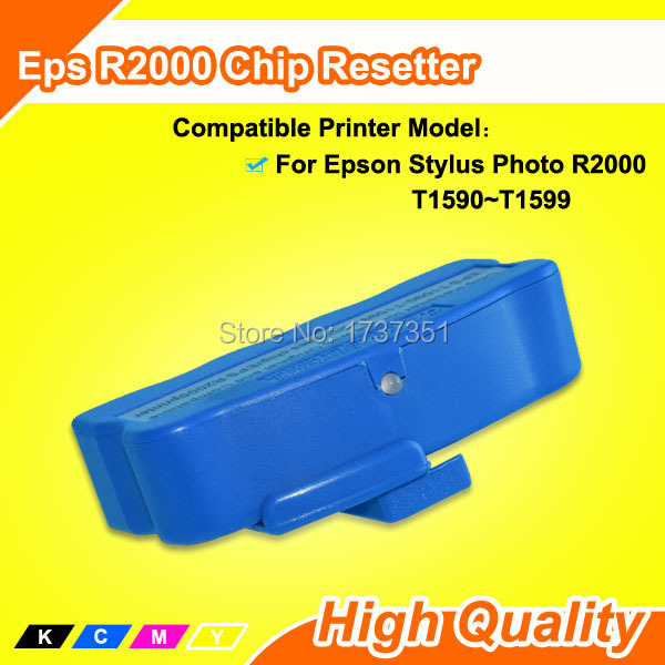 Reset Cartridge Chip For Epson Stylus Photo R2000 Chip Resetter reset chips t5491 t5496 chip reset for epson stylus 10000 10600 pigment ink cartridges chip 6colors 5sets per lot