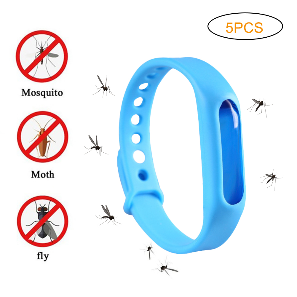 Anti Mosquito Repellent Bracelets Mosquito Killer Silicone Wristbands Children Insect Killer Mosquito Bracelet(China)