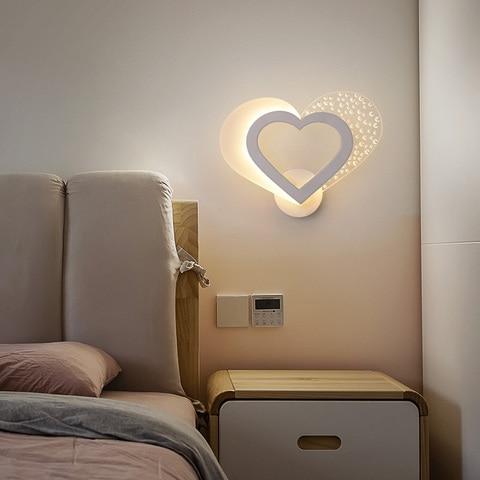 criativa corredor quarto luzes parede