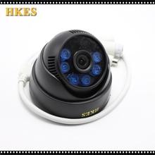 2pcs/lot Audio mini video surveillance security camera HD 1080P 6pcs infrared Led with external microphone