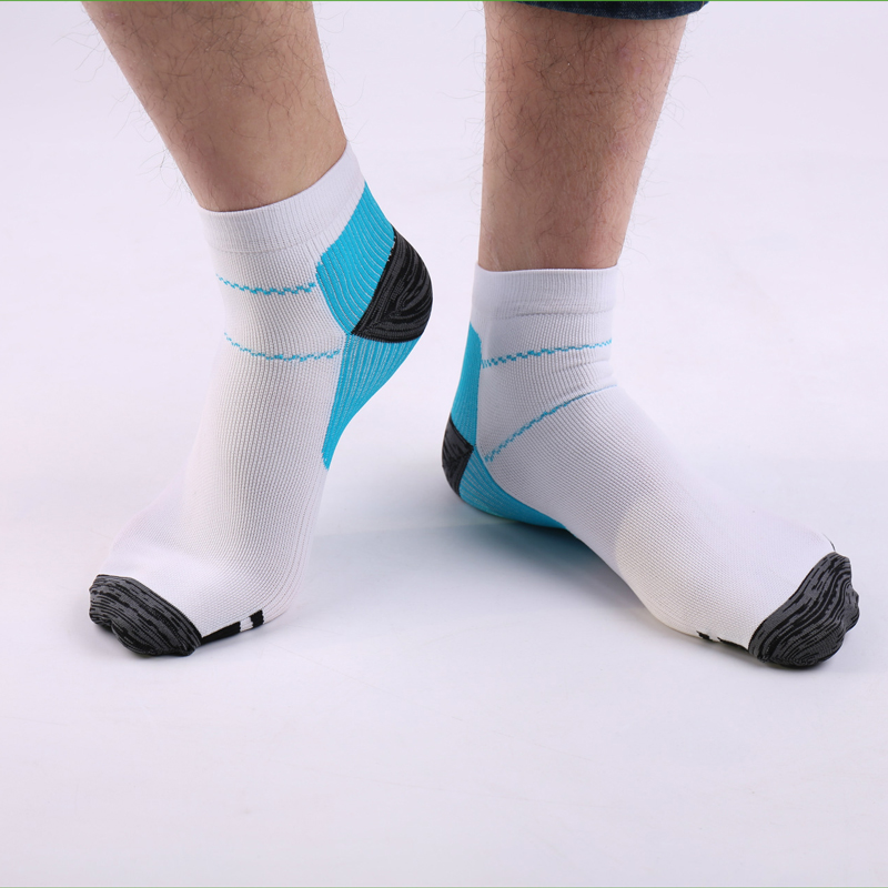 2pcs/1pair Men Women Cotton Socks Patchwork Foot Compression Socks Fashion Shallow Mouth Socks Walking Running Short Socks Meias
