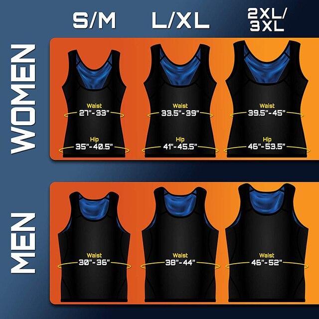 Postpartum Belly Belt Women Sweat Shaper Men's Premium Workout Tank Top Slimming Polymer Weight Loss Sauna Vest Corset Bandage 5