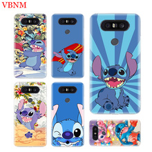 Disneys Stitchs Cute Soft TPU Fit Phone Case For LG V40 G6 G7 Q6 Q8 Q7 G5 G4 V30 V20 V10 K8 K10 2018 2017 Customized Cases Coque