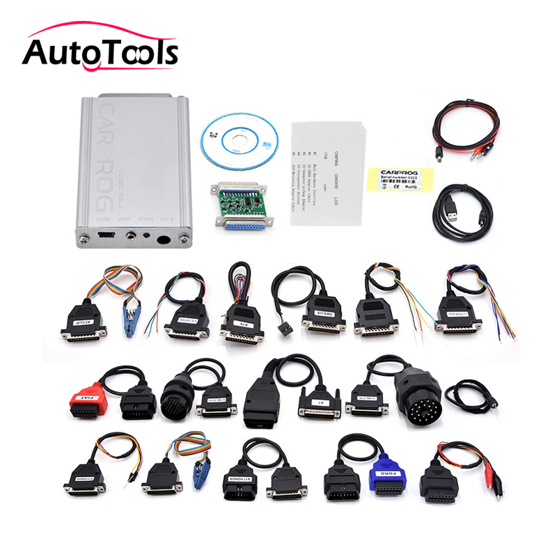 US $77 49 18% OFF|DHL free Newest Carprog Full V10 93 with 21 Adapter  Support Airbag Reset, Dash, IMMO, MCU/ECU-in Engine Analyzer from  Automobiles &