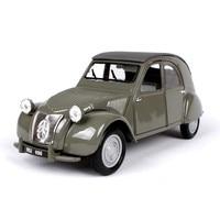 Simulation 1:18 1952 Citroen 2CV metal alloy model car,advanced collection&gift classic car model decoration,free shipping