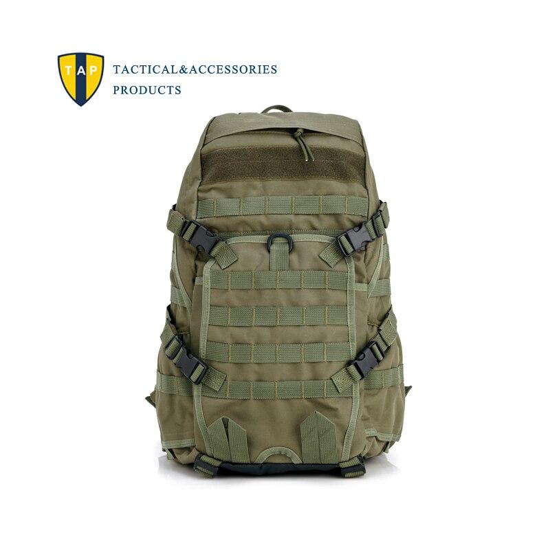 Prix pour Tap hommes tactique sac à dos escalade en plein air Camping randonnée sac à dos Molle solide Nylon Sport sacs de voyage armée militaire Mochila