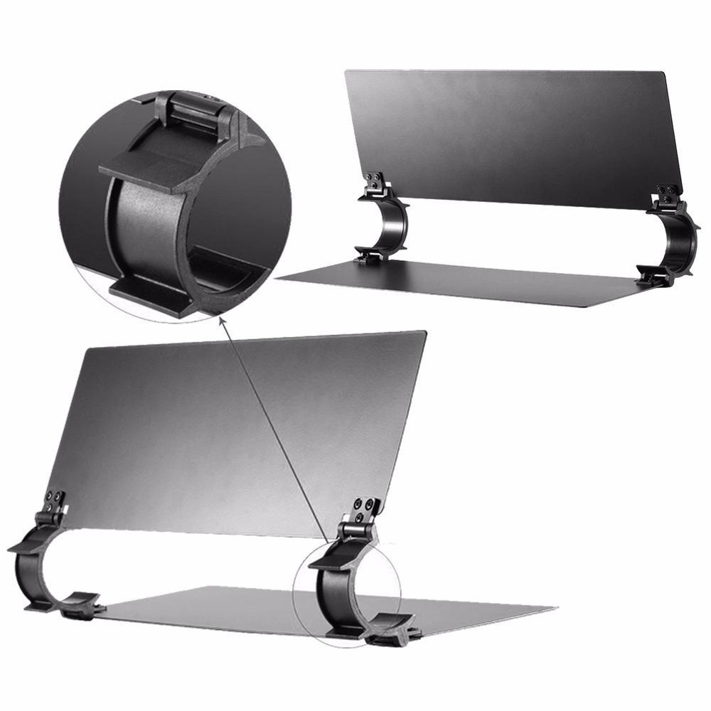 Viltrox All Metal Black Adjustable Barn Door For Ice Light Handheld