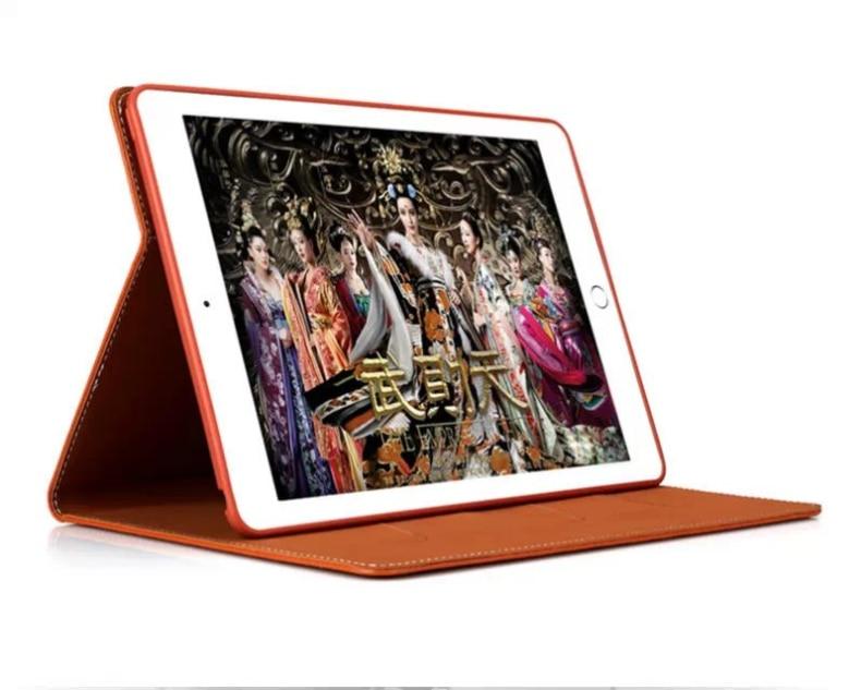 Business Flip Stand PU nahast ümbris iPad Air 2 iPad 6 Smart Cover - Tahvelarvutite tarvikud - Foto 4