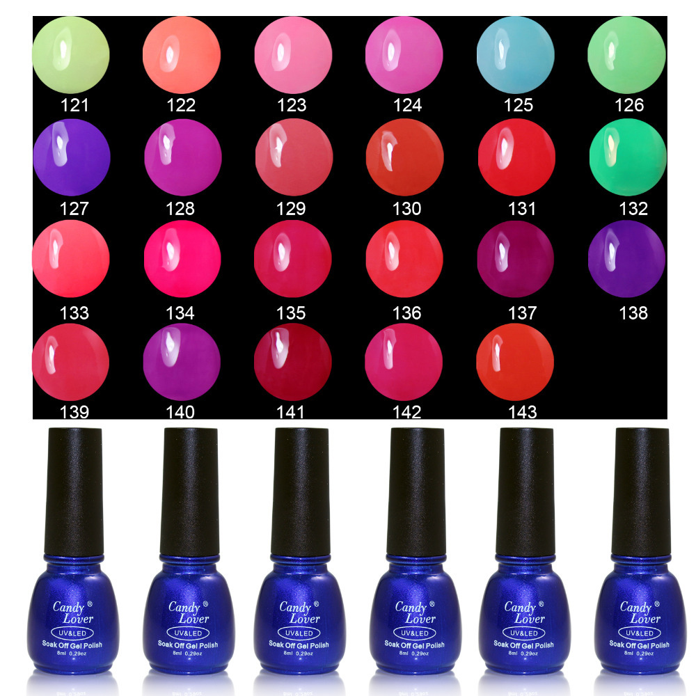 Candy Lover 8ml Nail Gel Polish...