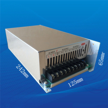 130 volt 4.5 amp 600 watt AC/DC monitoring switching power supply 600w 130v 4.5a industrial power supply transformer image