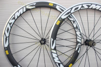 Carbon Road Wheels 38mm 50mm 60mm 90mm Clincher Alloy Brake Surface With Powerway R39 R36 Hubs