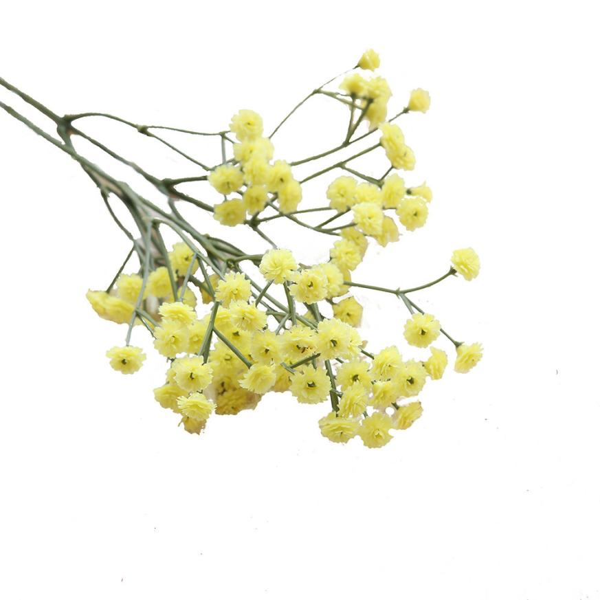 Blue pink yellow artificial silk fake flowers babys breath flower blue pink yellow artificial silk fake flowers babys breath flower big branch diy wedding decoration party home stamen wreath in artificial dried flowers mightylinksfo
