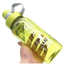 New Large capacity sports Climbing summer portable 1000ML My water bottle Tritan bpa free cute kids Handle my gym Plastic
