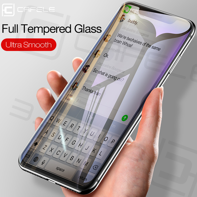 CAFALE Anti blue light Tempered Glass Screen Protector for