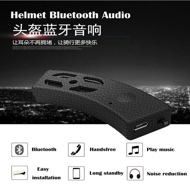 Bicicleta Capacete Da Motocicleta fone de ouvido Bluetooth embutido sem fio Bluetooth estéreo Mini subwoofer ruído do vento modelos Universal Host