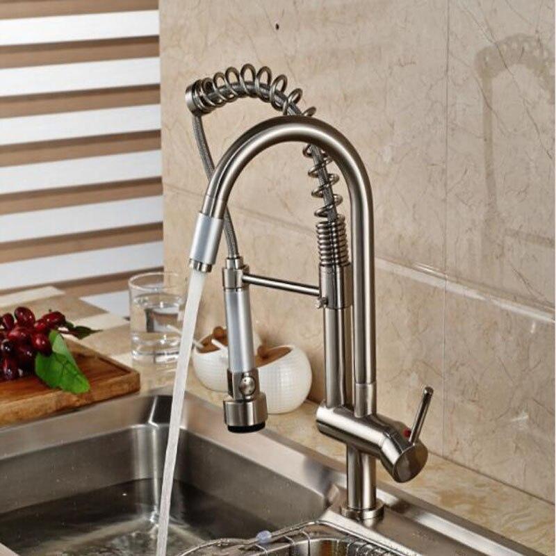 Ziemlich Küchenspüle Wasserhahn Mit Sprüher Zeitgenössisch - Küchen ...