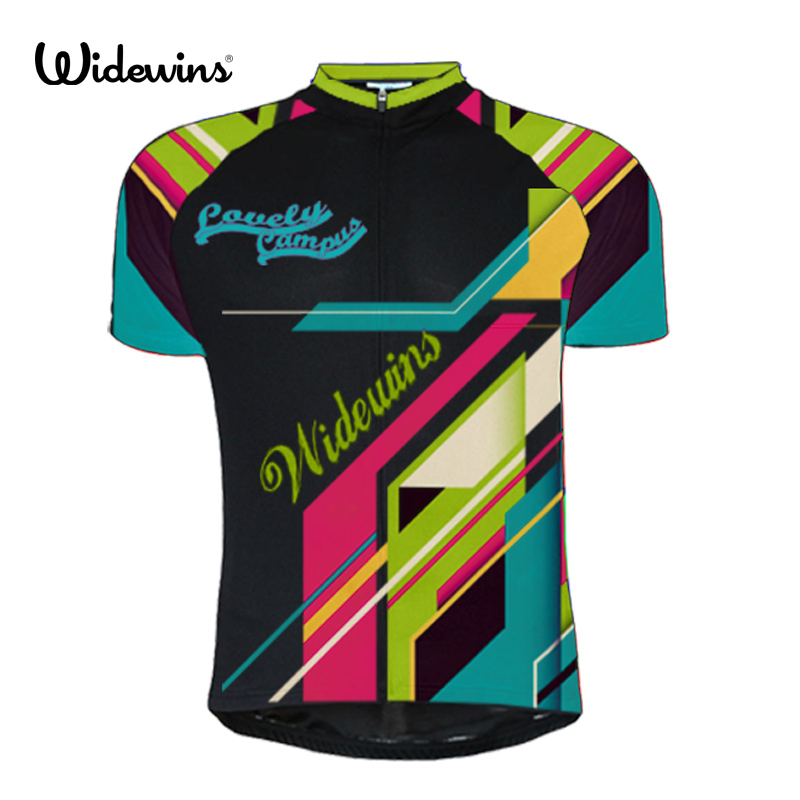 Custom Summer Riding laueey short sleeve cycling clothes prendas ciclismo bike racing tops team Jersey 7181