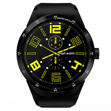 K98H Bluetooth 3G Smartwatch  Android 4.1 GPS Multi-function Health Tracker With MTK6572A Dual Core 4GB ROM For iPhone Huawei