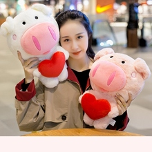 30/40/50 Cm Soft Pig Plush Toy Stuffed Cute Animal Lovely Dolls For Kids Appease Babys Room Decoration