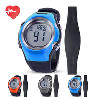 Running Cycling Heart Rate Monitor Fitness Tracker Digital Wireless Sports Polar Watches Chest Strap Men Women Sports Watch