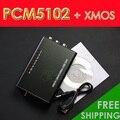 Мини Hifi ЦАП XMOS PCM5102 USB DAC Звуковая Карта 384 К 32bit с Выходом на Наушники