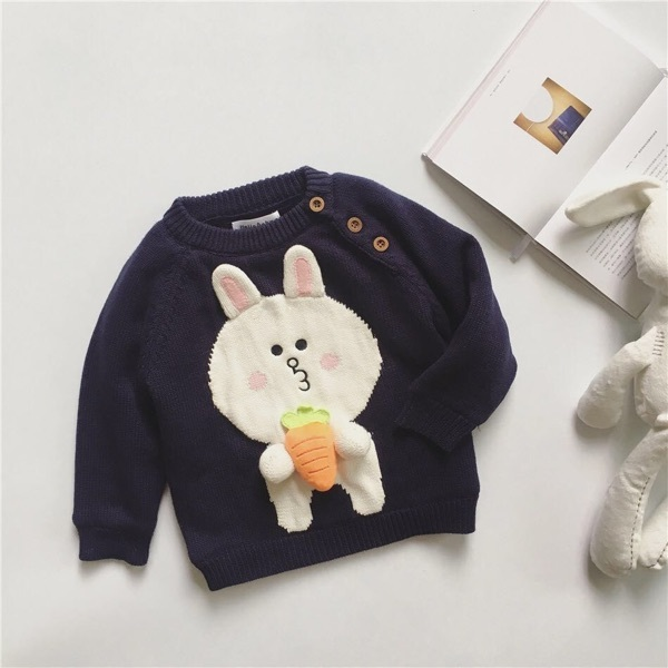Ins hot-selling 2016 WINTER BABY BOY CLOTHES BABY GIRL CLOTHES KIDS CHRISTMAS CLOTHING VETEMENT ENFANT RABBIT CARTOON SWEATERS