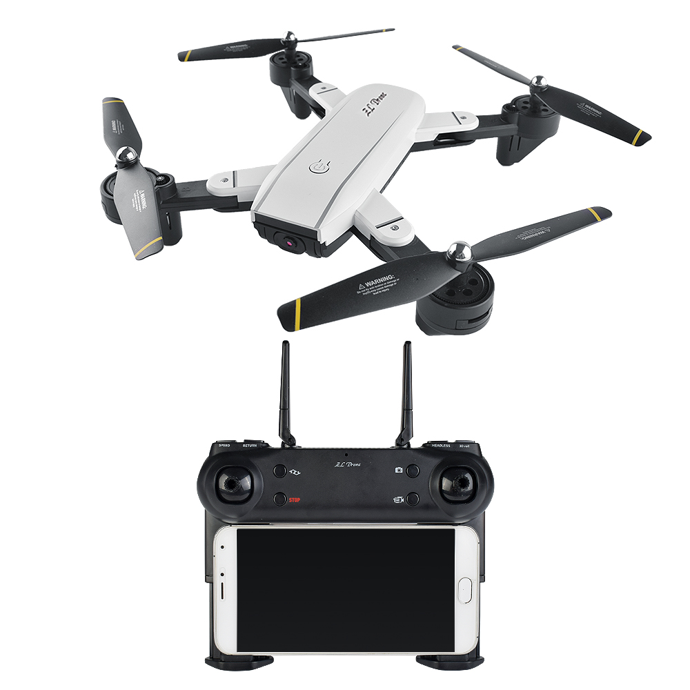 Original Remote Control Quadcopter Toy Mini WiFi FPV Camera Satellite Navigation Foldable RC Drones Drone Intermediate Level