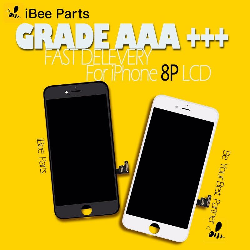 50 pièces Pour Tianma & Shenchao Pantalla AAA Pour l'iphone 8 Plus écran tactile lcd remplacement d'écran sans dhl frais