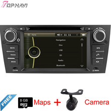 "7"" One Din Wince Car DVD Player GPS Radio For E90 E91 E92 E93 2006 2007 2008 2009 2010 2011 For BMW With Stereo Multimedia Navi"
