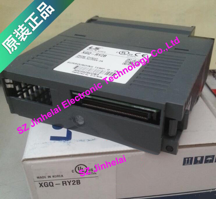 100% New and original XGQ-RY2B  LS(LG)  PLC  16 point relay output 2A use 100% new and original g6i d22a ls lg plc input module