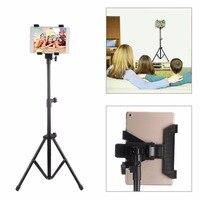Adjustable Tripod Floor Stand Flexible Tablet Holder Bracket Music Rack Mount Support for 7 13 inch Tablets Smart Phone Nexus 7