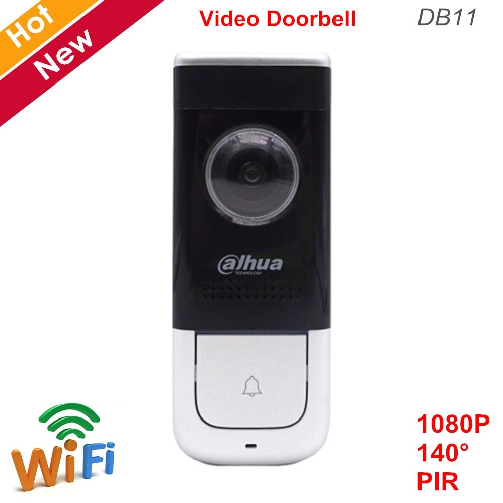 Dahua WiFi Video Doorbell DB11 HD 1080P 140 Degree PIR Detection Cloud Talk And Storage H.264 Built-in Speaker Video Doorphone