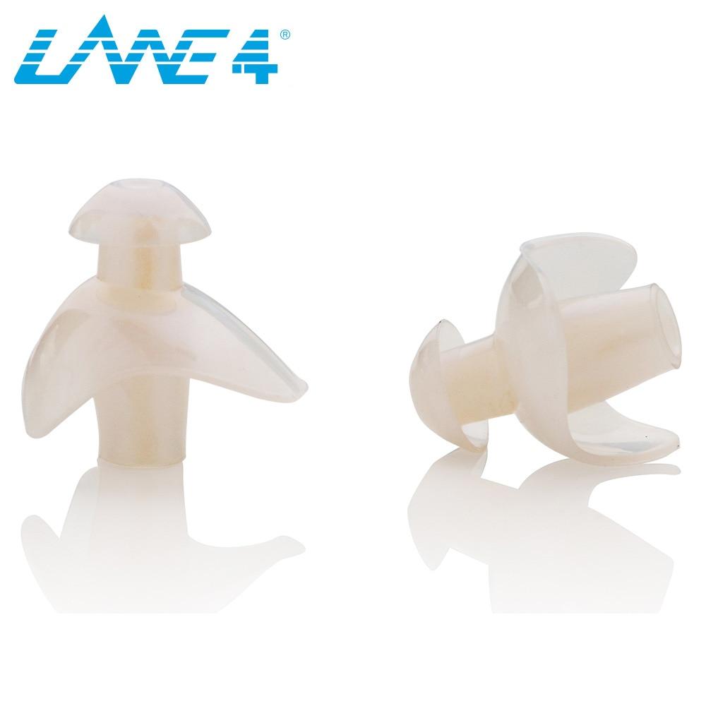 Ergonomic Shape Chlorine-Proof Waterproof Silicone Ear Plugs with Storage Case Soft Flexible Comfortable Reusable Unisex for Adults Men Women Children EP009 LANE4 Accessories