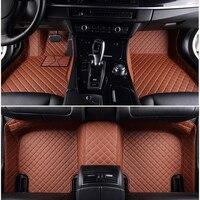 Custom fit car floor mats for 2018 Hyundai Ioniq Hybrid Toyota Volkswagen Audi Nissan BMW Ford Peugeot Honda Mazda floor mats