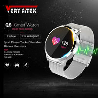 VERYFiTEK Q8 Blood Pressure Oxygen Smart Wristband IP67 Waterproof Fitness Watch Heart Rate Monitor Pedometer Smart Bracelet