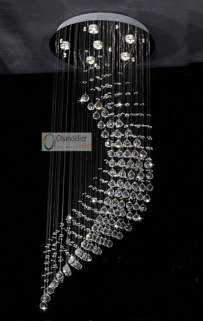 6 bulbs w195 x h51 fit 110 240v new wave clear crystal chandelier 6 bulbs w195 x h51 fit 110 240v new wave clear aloadofball Gallery