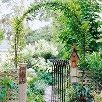 White Metal Wedding Arch Pergola Garden Backdrop Stand Background DIY Flower Frame Marriage DIY Party Decoration 240x140CM