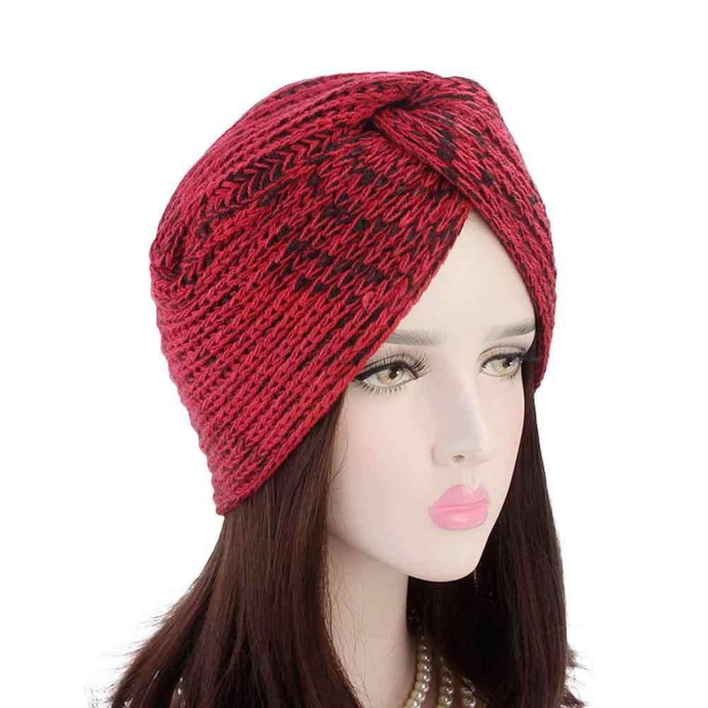 c3f44ce45b9 ... 2018 New Fashion Autumn And Winter Warm Women Wool Knitted Earmuffs Hats  Girls Caps Female Cap ...