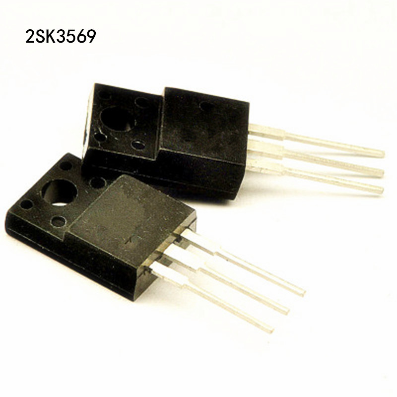 2 x 2SK3569 Silicon N Channel MOSFET  TO-220 2pcs