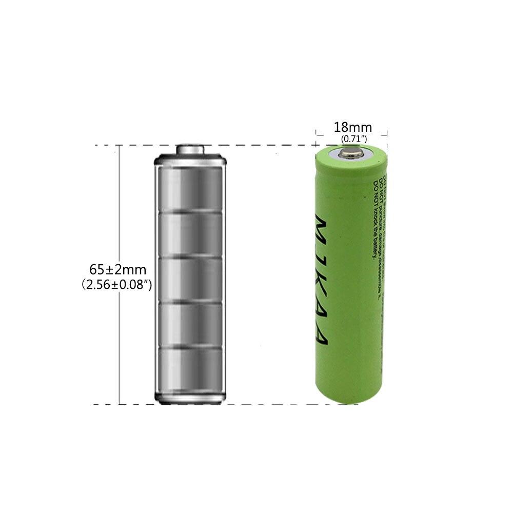 Baterias Recarregáveis 3.7 v 3150 mah não Marca : Mjkaa