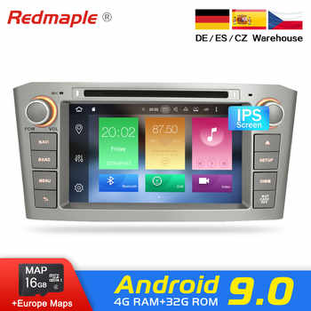 4G RAM Android 9.0 Car Radio GPS Multimedia Stereo DVD Player For Toyota Avensis T25 2003-2008 Auto Audio Navigation Headunit - DISCOUNT ITEM  26% OFF All Category