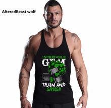 09108ad4d8ae4 Brand Sexy Men Fitness Tank Tops HULK print Bodybuilding Men O-Neck  Sleeveless Shirt Muscle Cotton Tank Top men vest Singlets