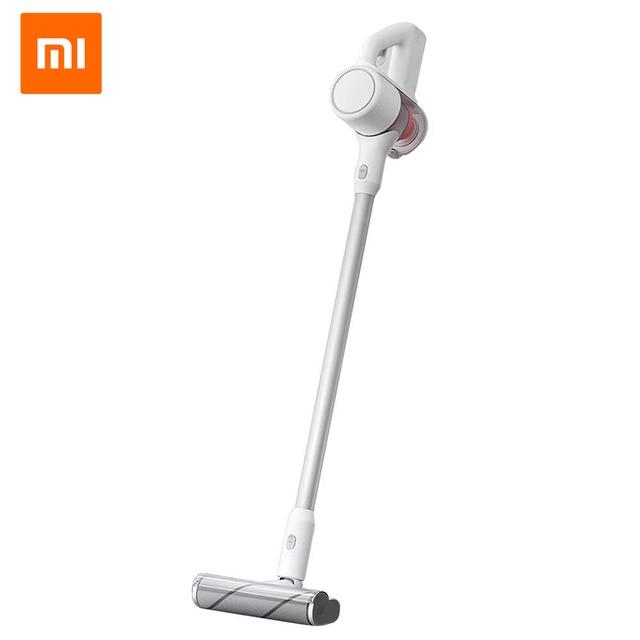 Новый портативный беспроводной пылесос Xiaomi MIJIA для уборки домашнего ковра 23000Pa 72db циклонный всасывающий аспиратор