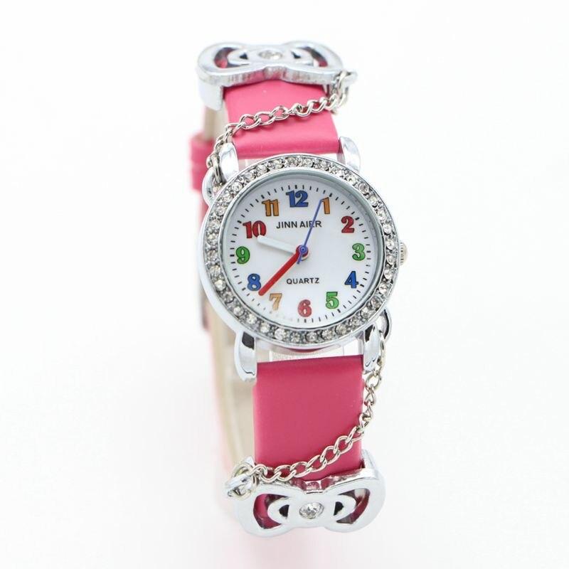 Female Watch Women Kids Children Girls Ladies Quartz Bracelet Wristwatches Rosette Cartoon Watch Montre Relogio Clock
