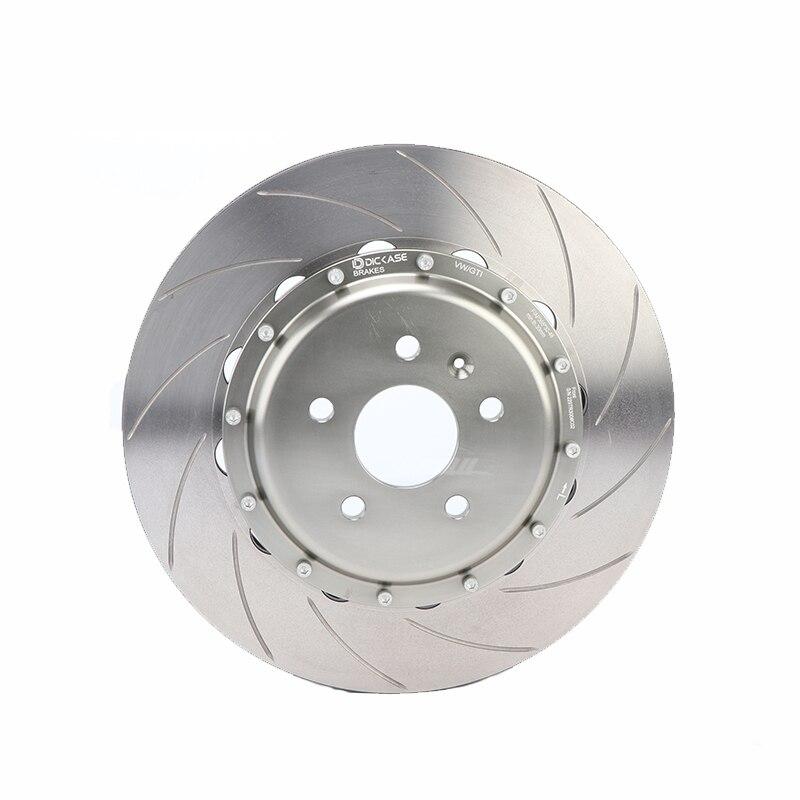 Auto part 380*32mm rainures incurvées disque de frein DICASE pour course cp5200 kit de freins rouge adapté pour volvo XC90 20RIM
