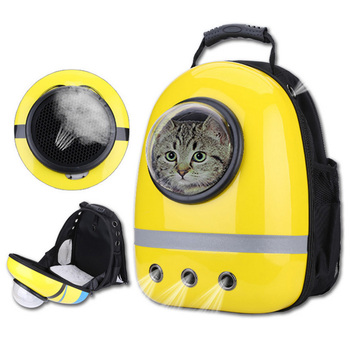 New Space Capsule Astronaut Pet Cat Backpack Bubble Window for Kitty Puppy Chihuahua Small Dog Carrier Crate Bag Cave Party Gift