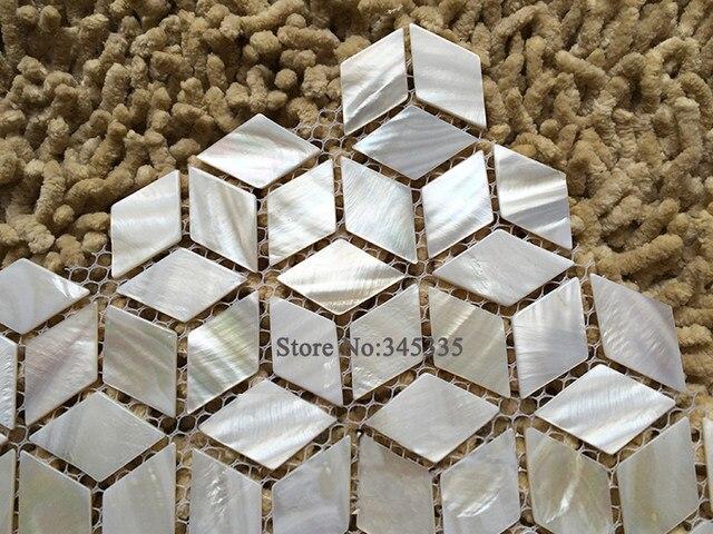 Online Shop Nuovo Rombo mattonelle di mosaico delle coperture bianco ...